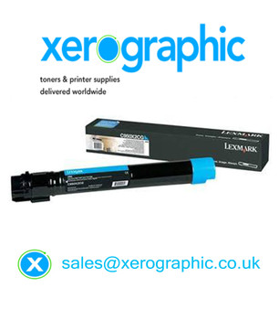Genuine Lexmark Extra High Capacity Cyan Toner Cartridge C950X2CG