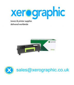 Lexmark High Capacity Black Toner Cartridge 56F2X0E, 56F2X00