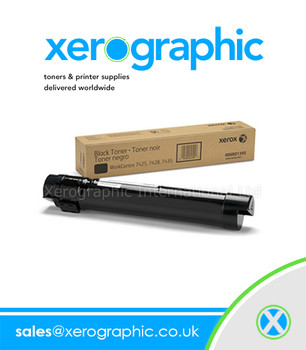 Xerox 7425, 7428, 7435 Genuine OEM Black Toner Cartridge 006R01395, 6R01395, 6R1395