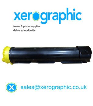 Xerox Color 800i, 1000i Press Genuine Yellow Toner Cartridge 006R01478, 6R1478