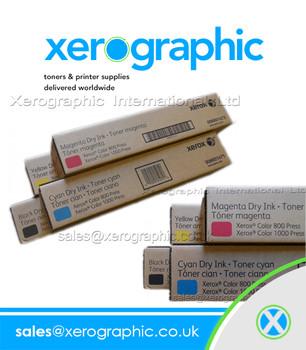 Xerox Color 800 1000 CMYK Genuine Toner Cartridges 006R01475 006R01476 006R01477 006R01478