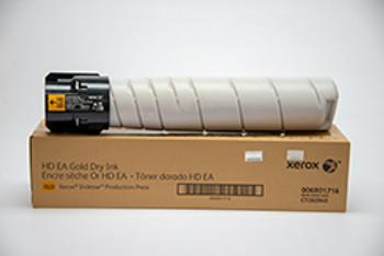 Xerox Iridesse Production Press Genuine Gold Toner Cartridge 006R01716, 6R1716