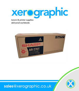 Sharp AR-270T Black Toner Cartridge