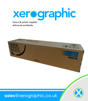 Xerox WorkCentre 7132 7232 7242 Cyan Toner Cartridge - 006R01265 006R01269
