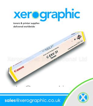 Canon IR C2100 C2105 C2100S C2105C Genuine Yellow Toner 4238A002(AA) C-EXV 2
