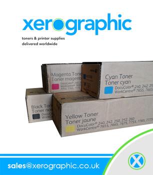 Xerox DocuColor 240 242 250 252 260 WorkCentre 7655 7665 7675 7755 7765 7775 Full Set Twin Pack of Genuine Toner Cartridge CMYK 006R01449 006R01450 006R01451 006R01452 (006R01449 006R01450 006R01451 006R01452)