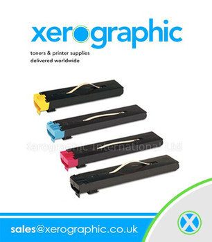 Xerox DocuColor 5000 CYMK Full Set Twin Pack Genuine Toner Cartridge 006R01251, 006R01252, 006R01253, 006R01254