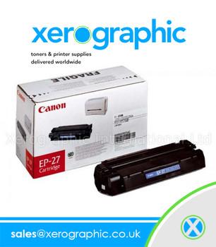 Canon EP-27 Original Laser Black Toner Cartridge