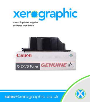 Canon C-EXV3 CEXV3 Genuine Toner Cartridge - 6647A002AB