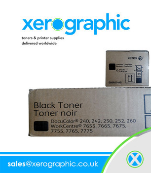 Xerox DC 240, 242, 250, 252, 260, Genuine Twin Pack Black Toner 006R01449, 6R1449,