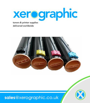Xerox WorkCentre 7132, 7232, 7242, CMYK  Genuine Metered Colour Toner Cartridges
