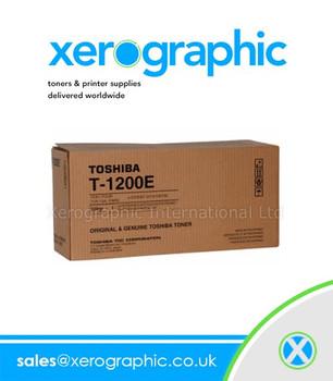 Toshiba E-Studio 12 15 120 150 Black Toner - T-1200E