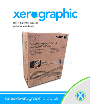 Xerox ColorQube Ink 9201, 9202, 9203, Genuine Black Solid Ink - Metered  -108R00836  (Capacity 10,000 Pages)