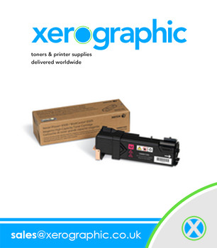 Xerox Phaser 6500 WorkCentre 6505, Genuine High-Capacity Cyan Toner Cartridge 106R01594