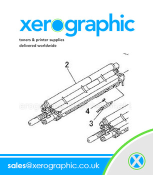 Xerox DocuColor 700,700i, 550, 560, 570 Developer Assembly KIT-HSG DEVE Black - 604K50042 604K50043 604K86360 604K86361