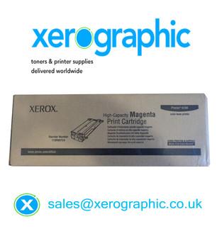 Xerox Phaser 6180MFP Genuine High-Capacity Magenta Toner Cartridge 113R00724