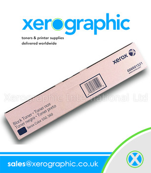 Xerox 550, 560, 570, C60, C70 WorkCentre 7965, 7975, Genuine Black Toner Cartridge - 006R01521 (Page Pack)