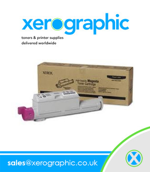 Xerox Genuine Magenta High-Capacity Toner Cartridge 106R01219