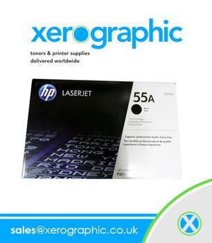 CE255A HP LaserJet Genuine Print Cartridge  Black  - CE255A