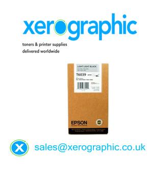 Epson Genuine Light Light Black Ink Stylus 7800, 9800, 7880, 9880, T6039, C13T603900