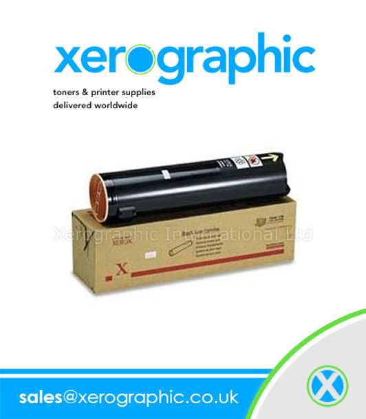 Xerox Phaser 7750 Color Laser Printer Genuine Black Toner Cartridge 106R00652 106R652