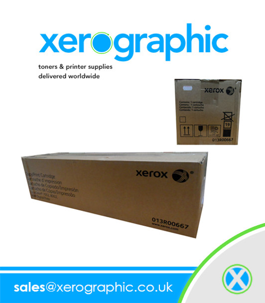 Xerox 013R00667 Genuine Copy Print Cartridge 013R667 DocuColor 7002, 8002, 8080 Digital Press