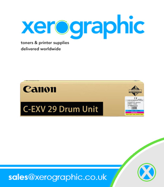 2779B003[AA] C-EXV 29 DU Canon Genuine Color Drum Cartridge -Image RUNNER ADVANCE C5030, C5035, C5235, C5240