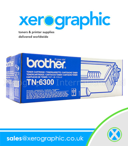 Brother TN-6300 Genuine Toner Cartridge
