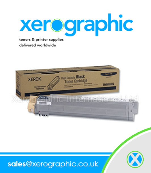Xerox Phaser 7400 MFP Genuine Black Toner Cartridge 106R01080