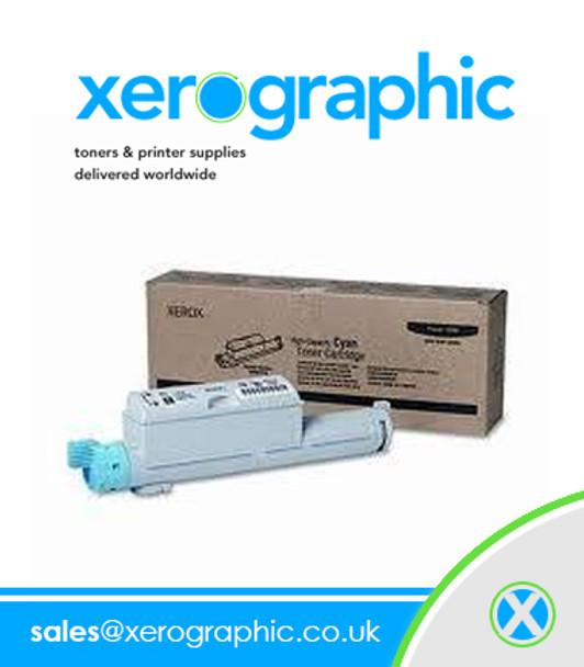 Xerox Original High-Capacity Cyan Toner Cartridge Phaser 6360 106R01218