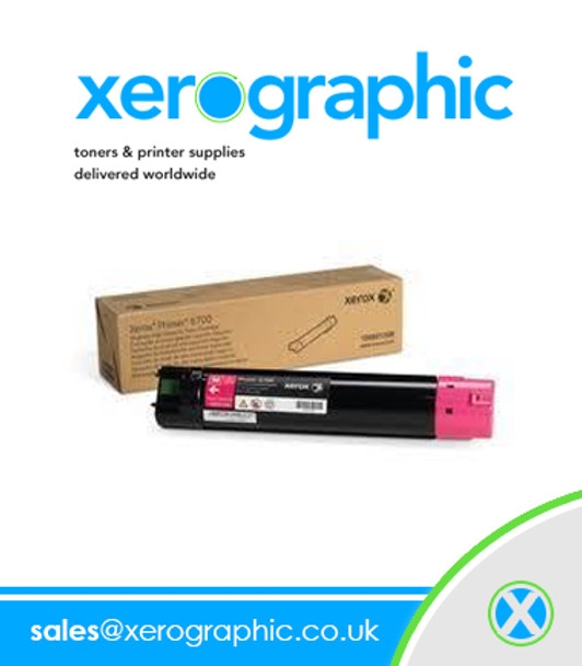 Xerox Genuine Magenta Standard Capacity Toner Cartridge Phaser 6700 106R01504