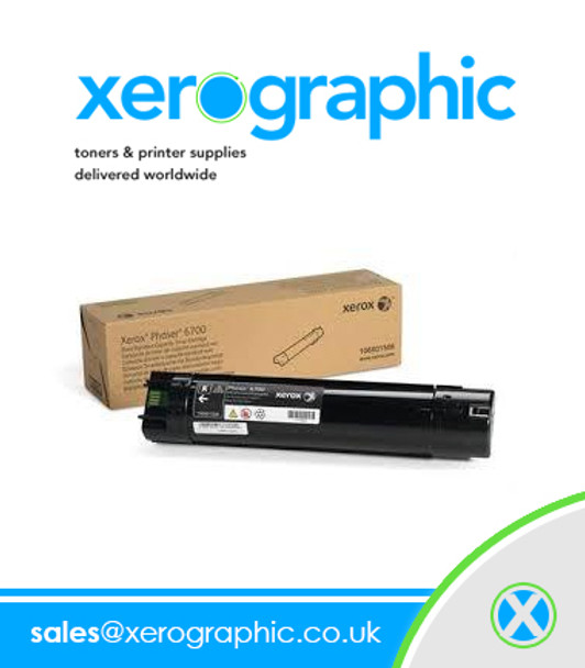 Xerox Phaser 6700 Genuine Page Pack Black Toner Cartridge 106R01522 106R1522
