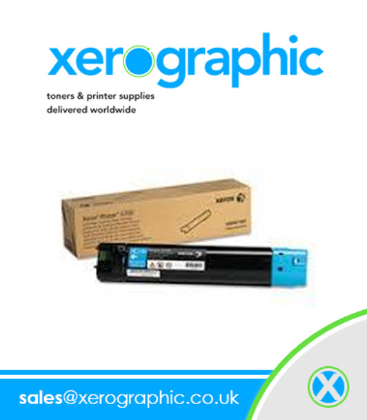 Xerox Phaser 6700 Genuine Page Pack Cyan Toner Cartridge 106R01519 106R1519