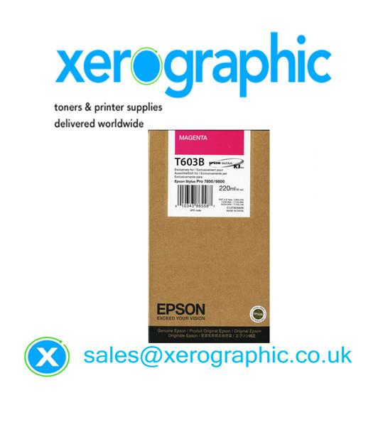 Epson Pro 7880/9880 High Capacity Genuine Magenta K3 Ink Cartridge T603B C13T603B00