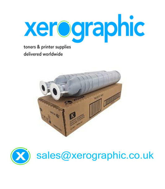 Xerox 5945 5955 Genuine Twin Pack Black Metered Toner Cartridge 006R01604
