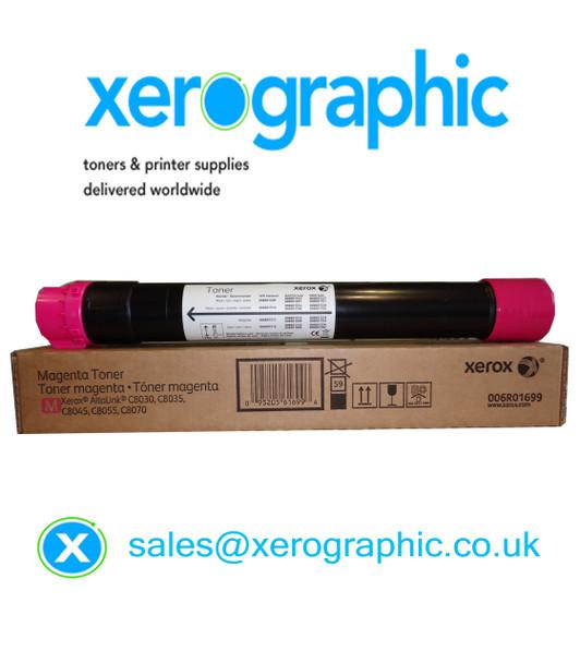 Xerox AltaLink C8030, C8035, C8045, C8055, C8070 Genuie Magenta Toner Cartridge 006R01699