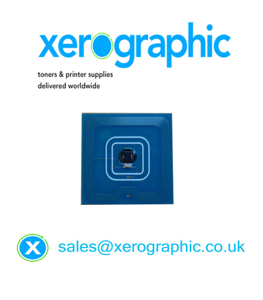 Xerox Color 550, 560, 570, C60, C70 WorkCentre 7965, 7975 Genuine Black Toner Cartridge Chip (Page Pack)