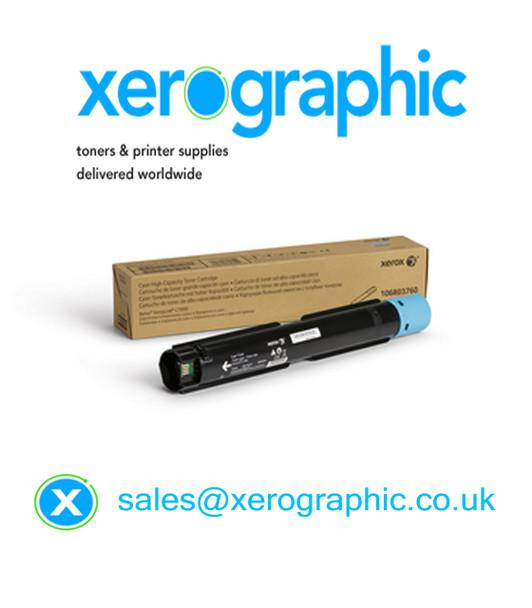 Xerox VersaLink C7000 Genuine Cyan Toner Cartridge (10,100 Pages) 106R03760