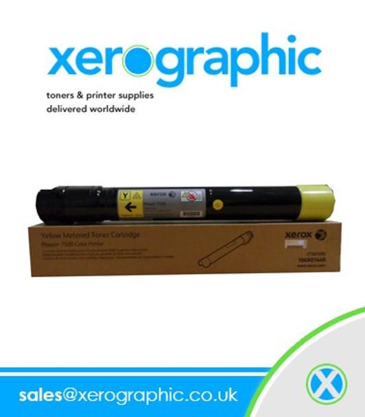 Xerox Versalink C7000 Series Genuine H/C Yellow Toner Cartridge 106R03742