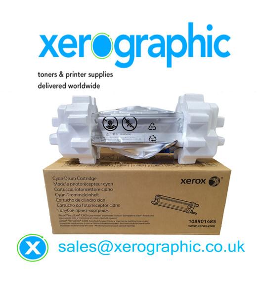 Xerox VersaLink C600 / C605, Genuine Cyan Drum Cartridge 108R01485
