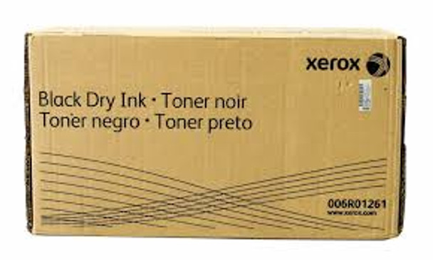 Xerox 006R01261 Genuine OEM Black Dry Ink Toner Cartridge Nuvera 100, 120, 144, 200, 288
