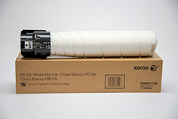 Xerox Iridesse Production Press Genuine White Toner Cartridge 006R01718, 6R1718