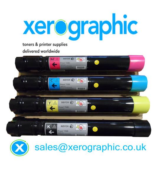 Xerox AltaLink C8000 Series CYMK Genuine DMO Toner Cartridge 006R01701, 006R01702, 006R01703, 006R01704