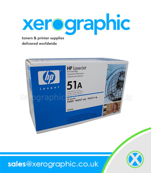 HP 51A Original Toner Cartridge black - Q7551A