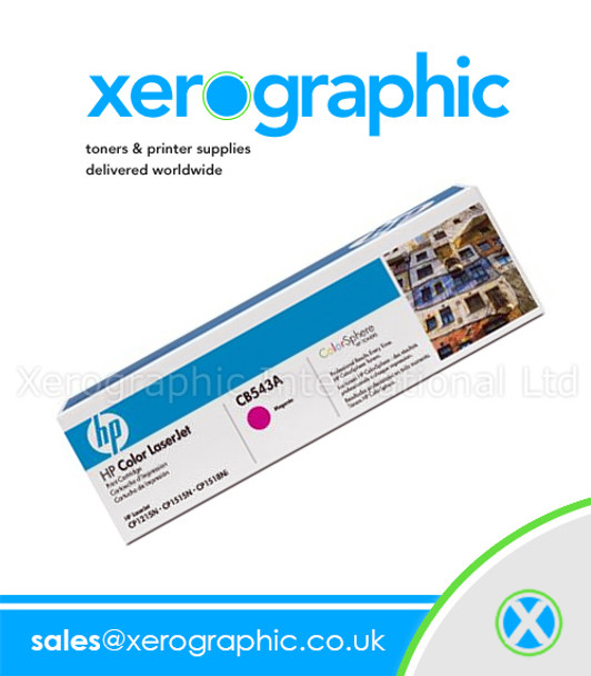 HP Laser Toner Cartridge Magenta - CB543A