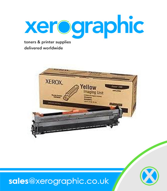 Phaser 7400 Xerox Genuine Yellow Image Unit - 108R00649 108R649