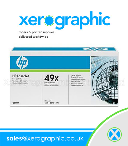 HP 49X Print Cartridge Original Black Toner - Q5949X