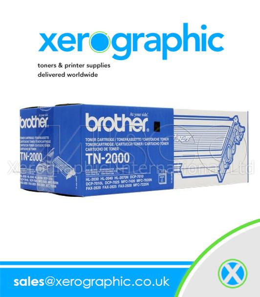 Brother TN-2000 Original Magenta Toner Cartridge