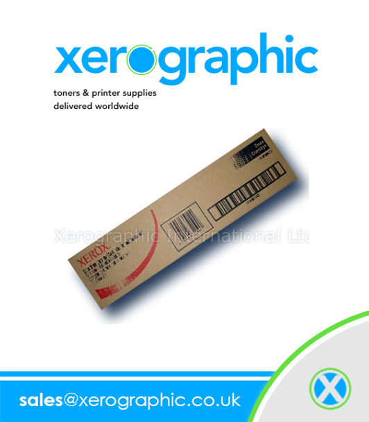 Xerox DC 700i, DC 700, 770, J75, C75, Digital Color Press, Genuine Black Toner Cartridge 006R01375