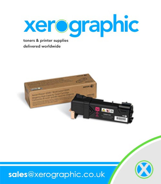 Xerox Phaser 6500/ WorkCentre 6505 High-Capacity Genuine Yellow Toner Cartridge 106R01596
